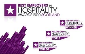 Best Employers in Hospitality Awards Brand Identity