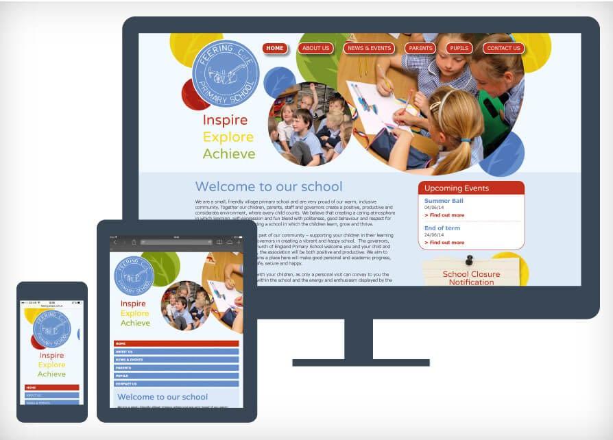 School prospectus and website design