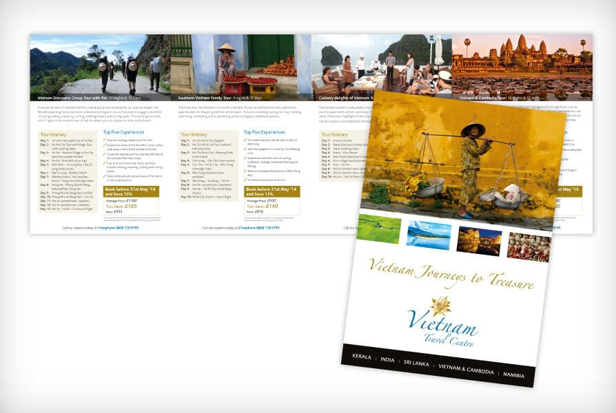travel marketing design