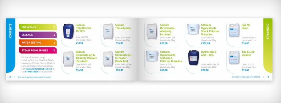 services brochure design