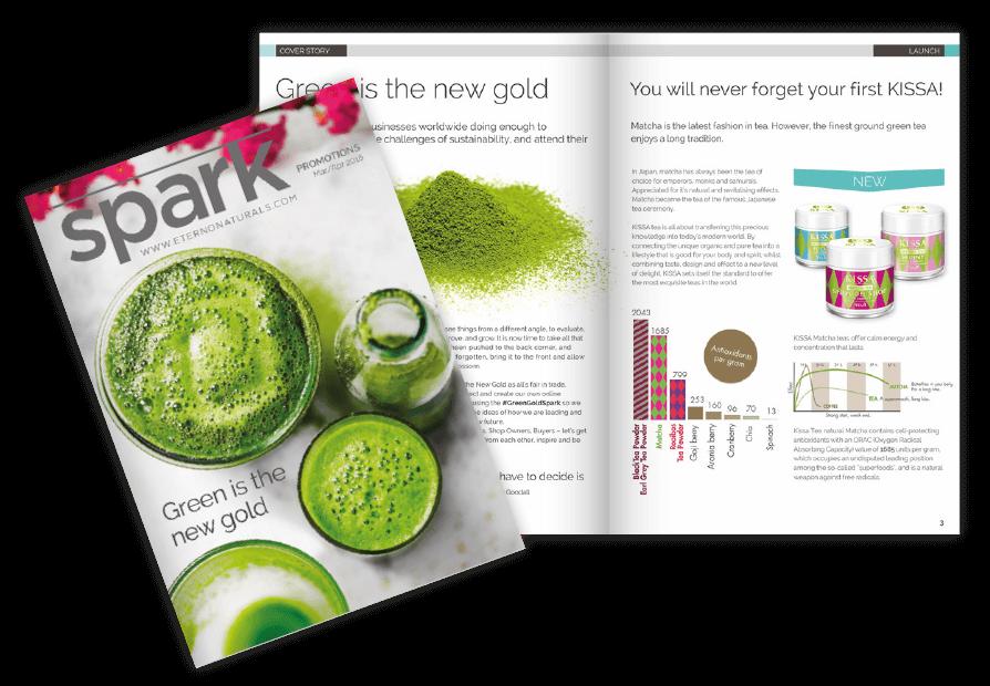 magazine design and branding