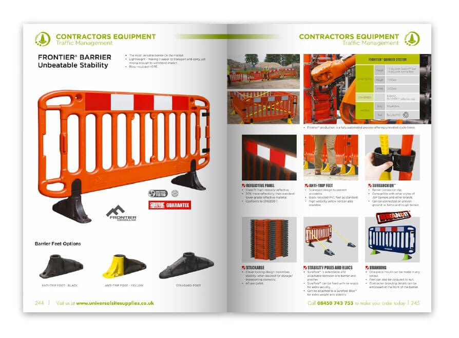 Catalogue print by Essex branding and marketing
